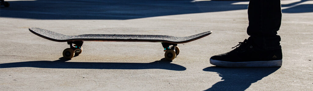 concavo de un skateboard