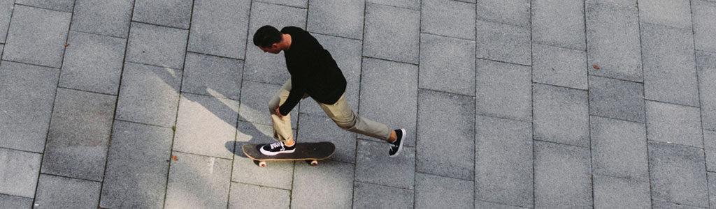 skate push