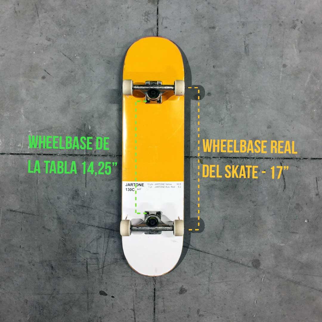 wheelbase skate
