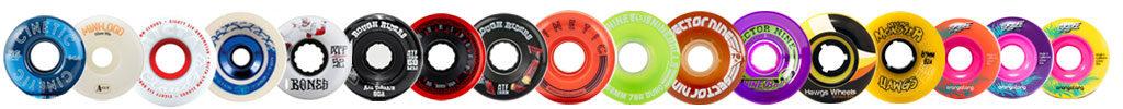 ruedas de skate y longboard