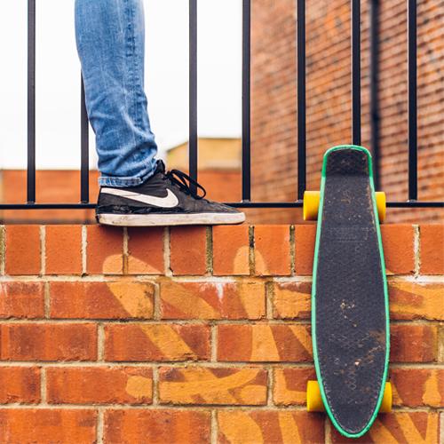 skate estilo penny de plástico