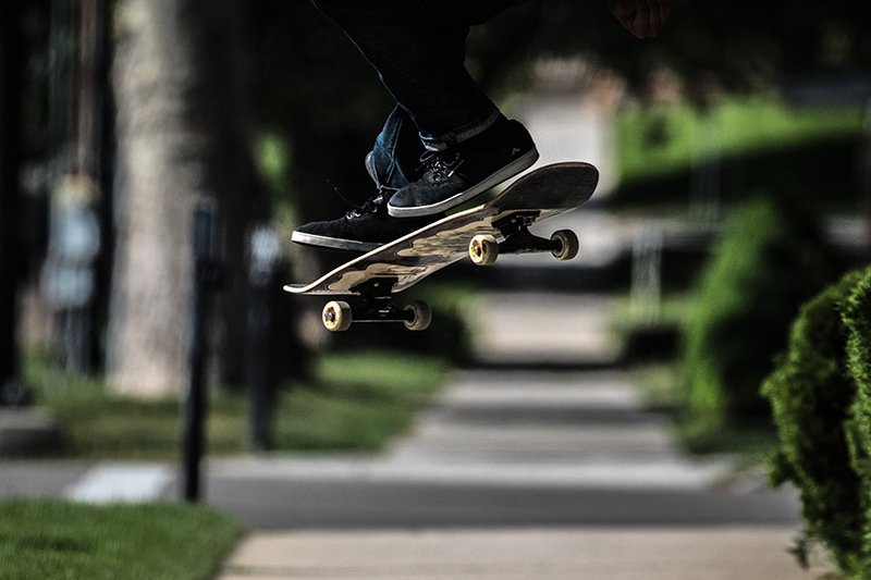 skate ollie
