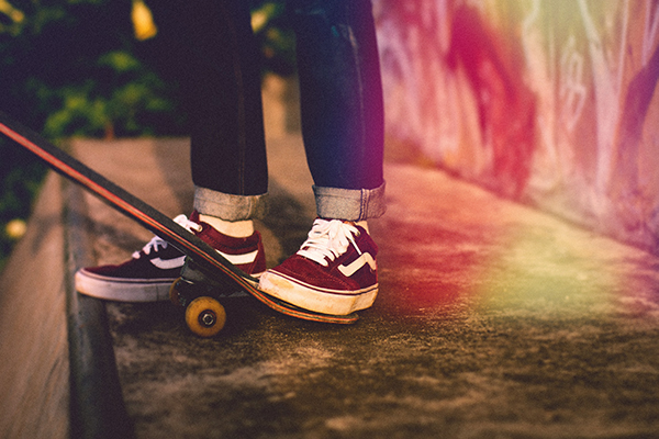 skate tail