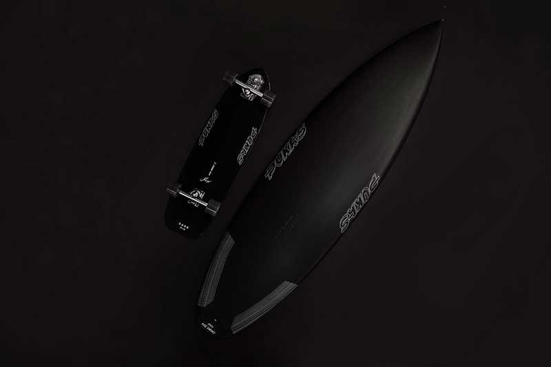 Yow x Pukas Dark Surfskate