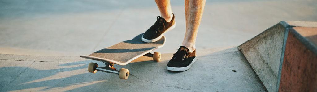 como subir a un skate