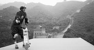 Danny Way en la Muralla Xina