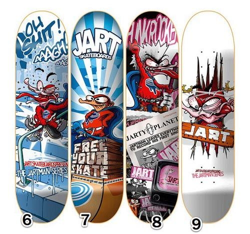 Jart Skateboards Jartman