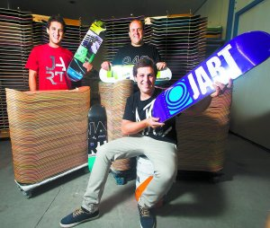 Iraola brothers, Jart Skateboards