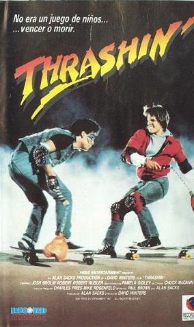 Thrashin' patinar o morir, la película de skate que no te puedes perder