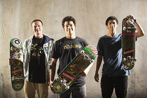 Primitive Skate 2008 con Paul Rodriguez, Carlos Ribeiro y Nick Tucker