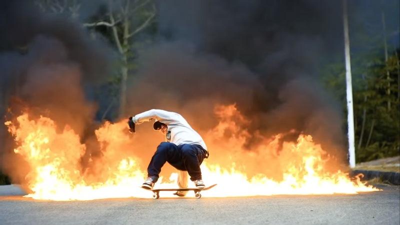 Sergio Yuppie Skate Tales, Layback Slide