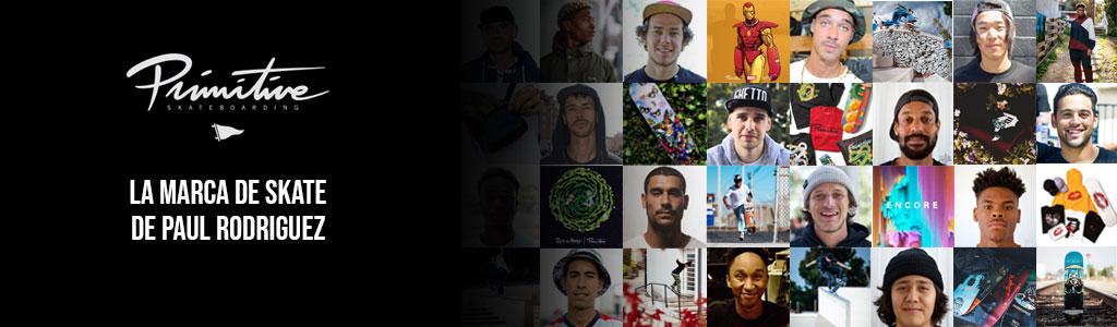 Primitive Skate, la marca de Paul Rodriguez