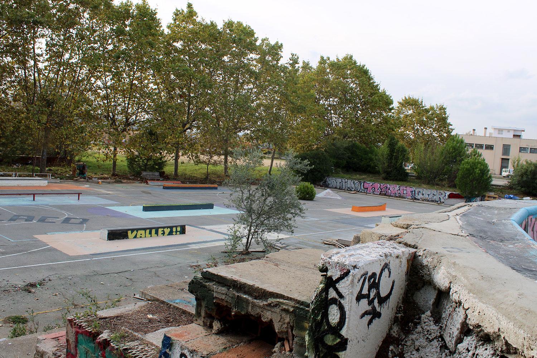 DIY skatepark en Barcelona