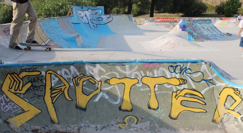 Skatepark diy