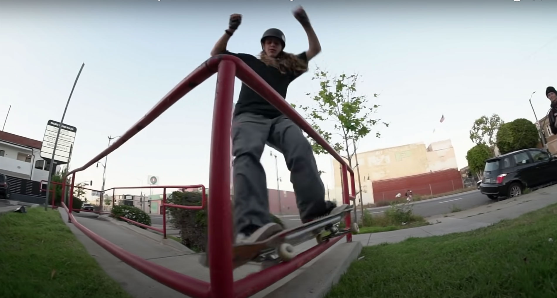 Andy Anderson Skateboarding
